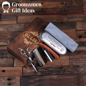 Personalized Straight Razor Blade