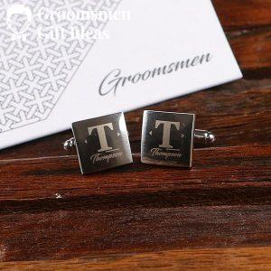 Personalized Modern Gentleman Accessory Groomsmen Gift Set